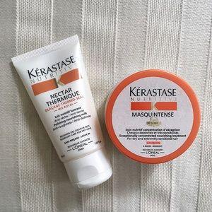 Kerastase Blow Dry Primer and Fine Hair Mask Set
